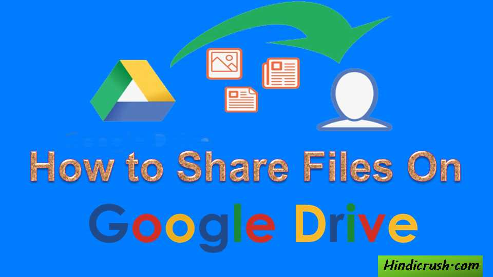 how to share files on google drive?